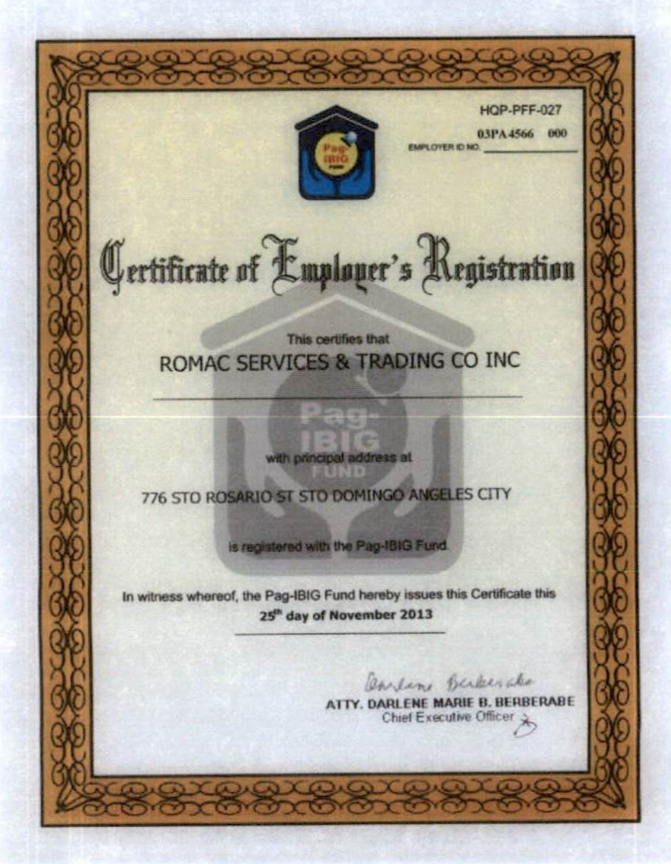 Pag-ibig Registration